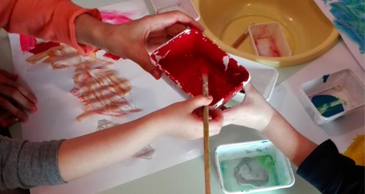 Crescere con arte, i laboratori per i piccolissimi
